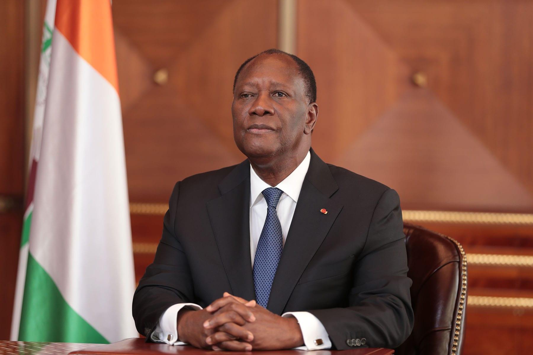 Alassane Ouattara: «J'ai décidé de ne pas être candidat à l'élection présidentielle du 31 octobre 2020»