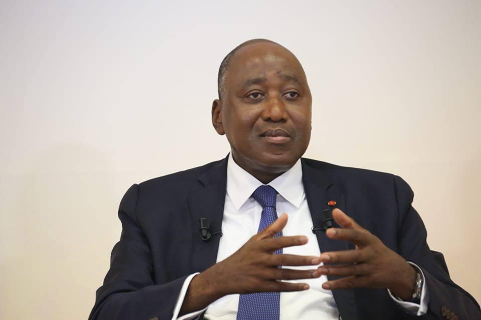Le Premier ministre ivoirien Amadou Gon Coulibaly, candidat officiel du RHDP aux présidentielles 2020