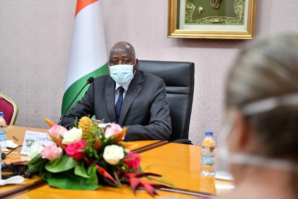 Amadou Gon met fin aux rumeurs : « j'ai été testé négatif à deux reprises au Covid-19 »