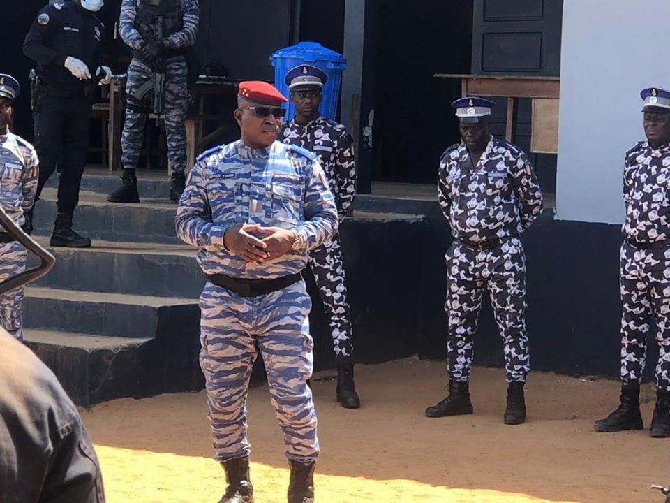 Attaque de Tabou : le Général Apalo Touré sur le terrain