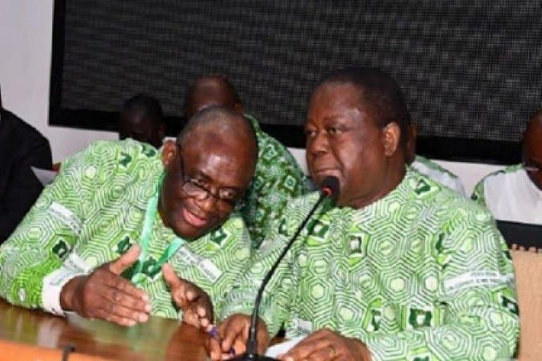 Bédié et Guikahué menacés par le Coronavirus (?): Adjoumani prévient