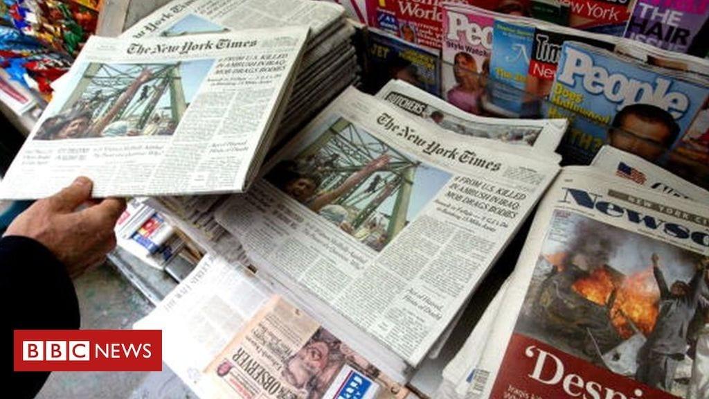 Chine : plusieurs journalistes américains sommés de quitter le pays