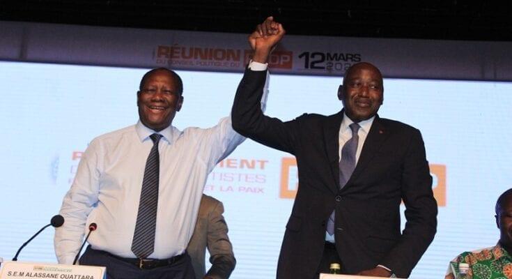Amadou Gon Coulibaly désigné candidat du RHDP, à la place d'Alassane Ouattara