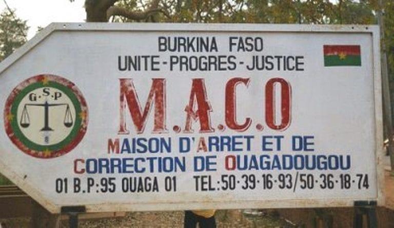 COVID-19 : les visites aux prisonniers suspendues au Burkina