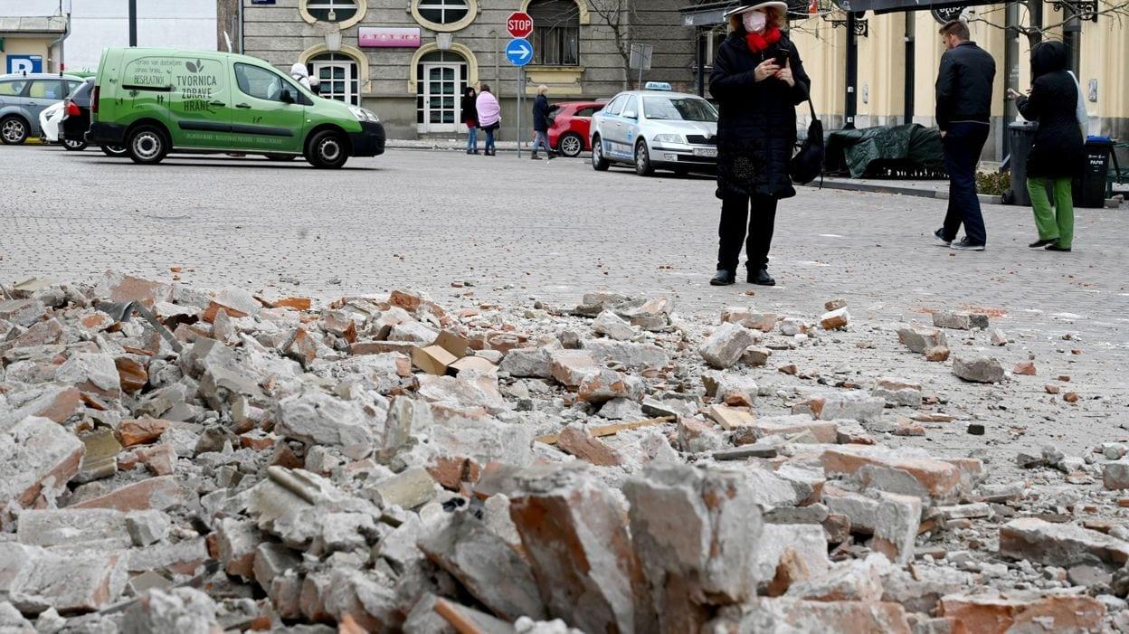 Covid-19 en Croatie : les habitants ont peur de rester dans leurs maisons après un séisme