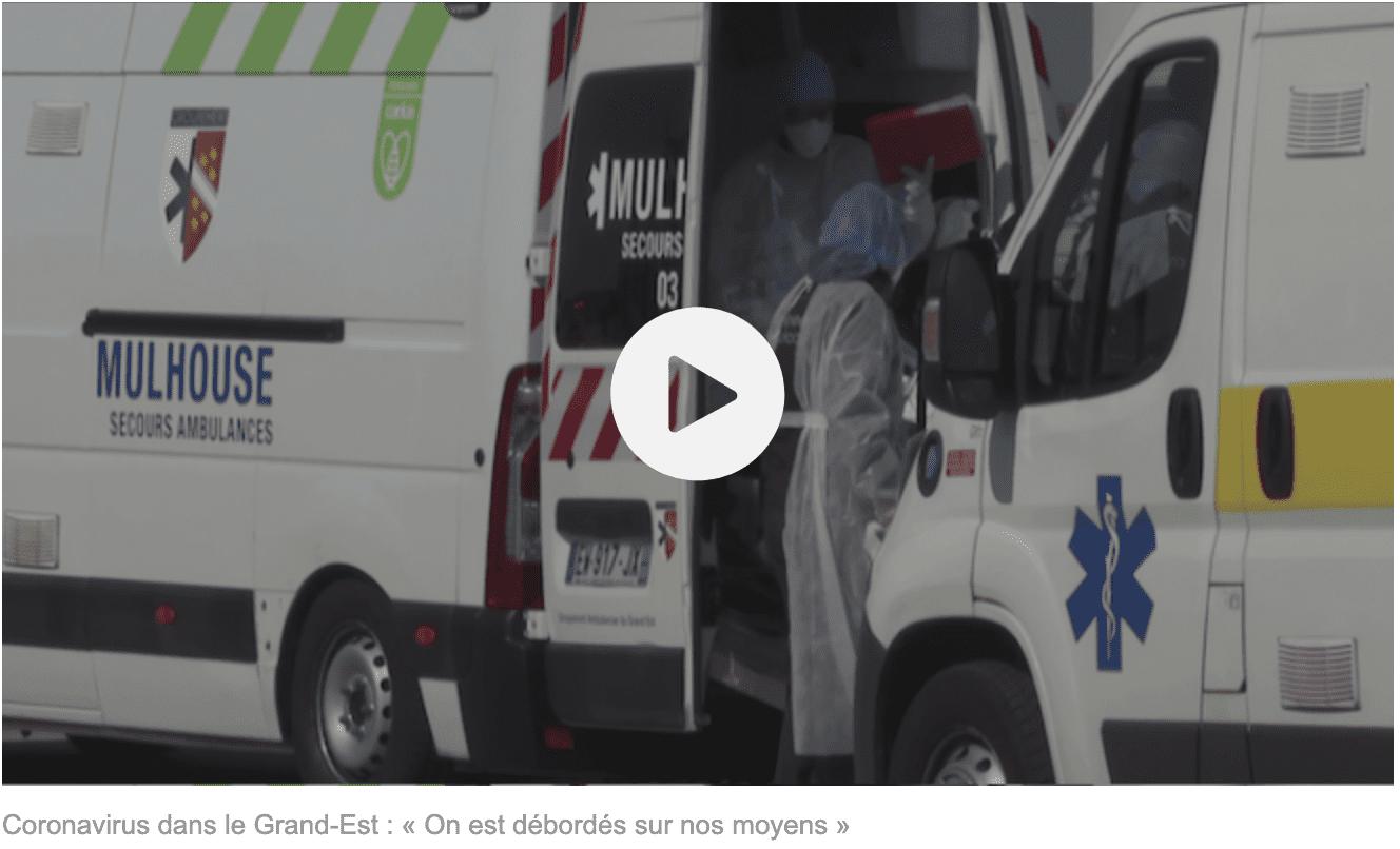 Coronavirus dans le Grand-Est : « On est débordés sur nos moyens »