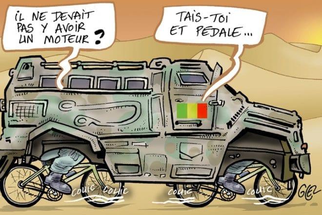 [Chronique] Blindés non conformes livrés au Mali : arnaque ou amateurisme ?