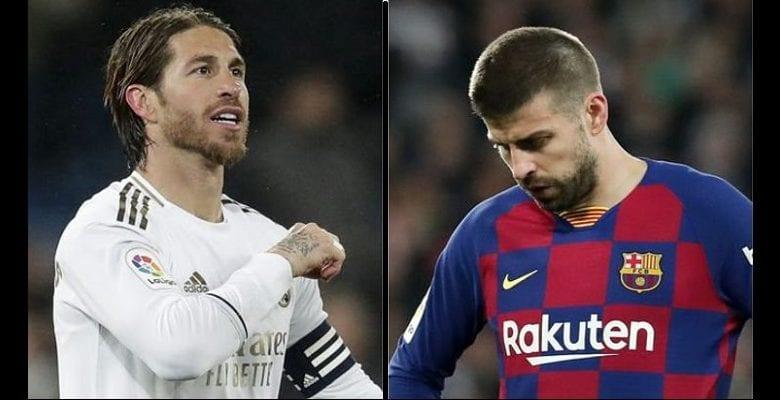 Classico-« J'ai vu l'un des pires Real Madrid en première période »: Ramos répond à Piqué