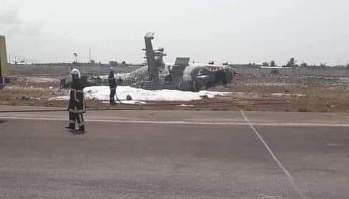 Côte d'Ivoire: Crash d'un hélicoptère Mi-24 à l'aéroport d'Abidjan