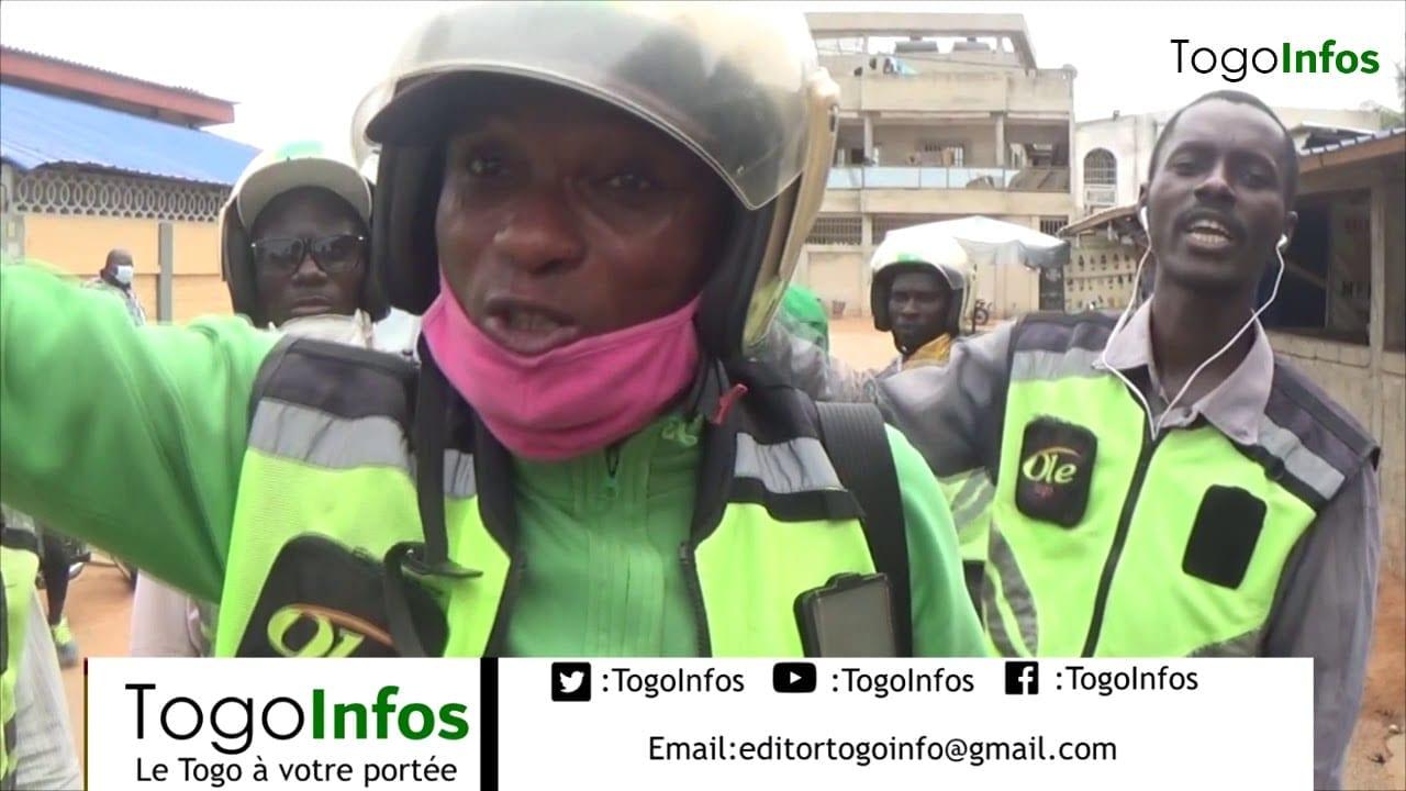 Coronavirus : les conducteurs de moto taxi «Ole» sont en colère