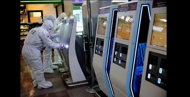 Corée du Sud/coronavirus : des billets de banque brûlés et mis en quarantaine