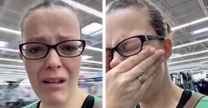 Coronavirus, l'Apocalypse : Une mère éclate en sanglots dans un supermarché car il n'y a plus de couches pour son bébé.