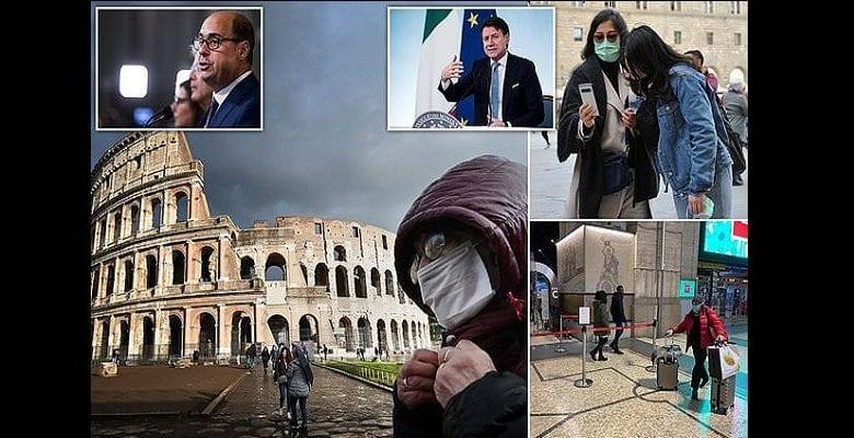 Coronavirus : l'Italie place près de 16 millions de personnes en quarantaine