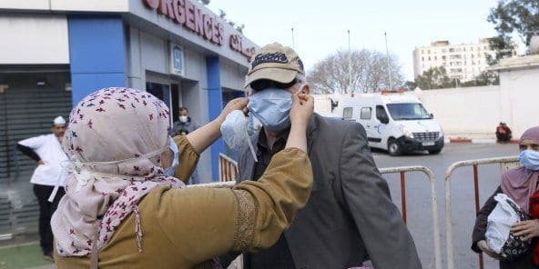 Coronavirus : en Algérie, la solidarité s'organise pour pallier les faiblesses du système de santé