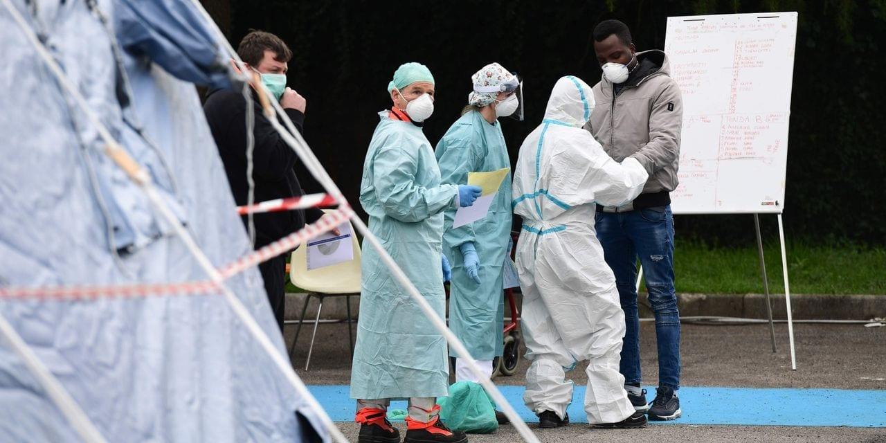 Coronavirus: en Italie, nouveau record de décès en 24H00, 368 morts (officiel)