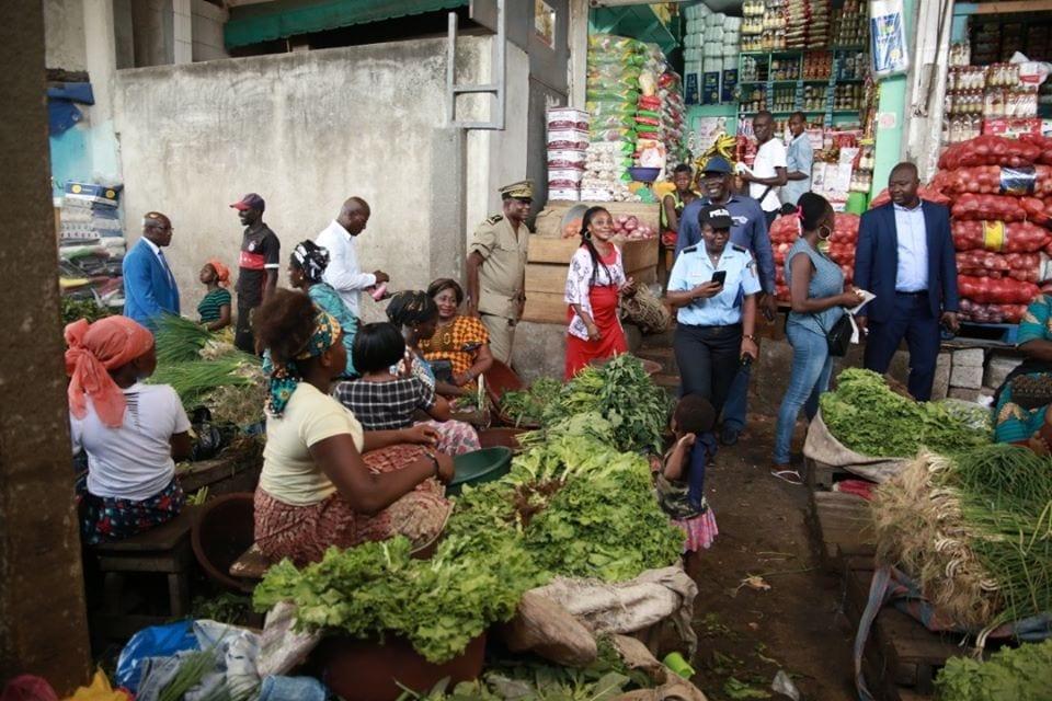 Covid-19 à San Pedro : la police met la pression pour la fermeture du Grand Marché