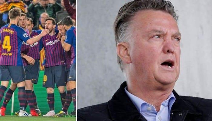 Défense centrale du Barça: Van Gaal propose une solution au club