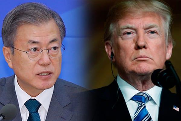 Covid-19: Donald Trump appelle la Corée du Sud au secours
