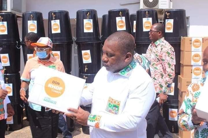 Dons contre Covid-19 en Côte d'Ivoire : les petits calculs du RHDP pour octobre 2020