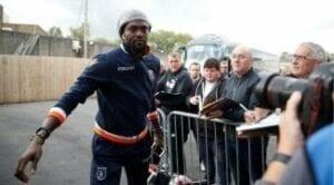 Copa libertadores: La violente faute d'Adebayor qui lui coûta un carton rouge