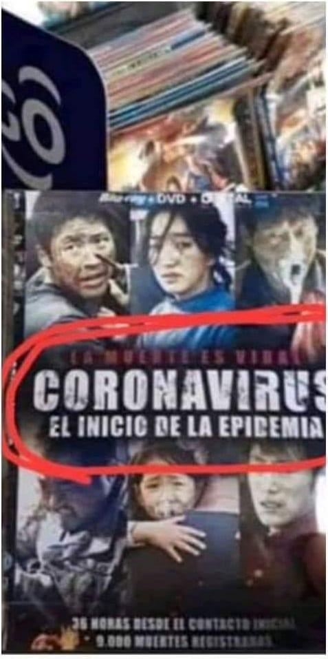 CORONAVIRUS, une prédiction de l'épidémie 40 ans plus tôt