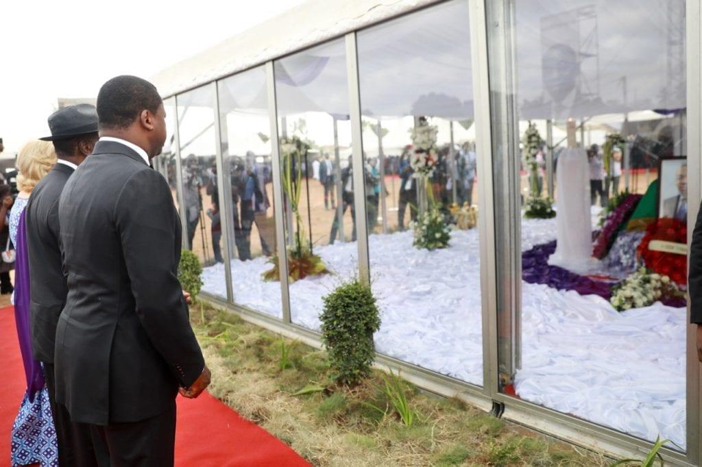Faure Gnassingbé en deuil