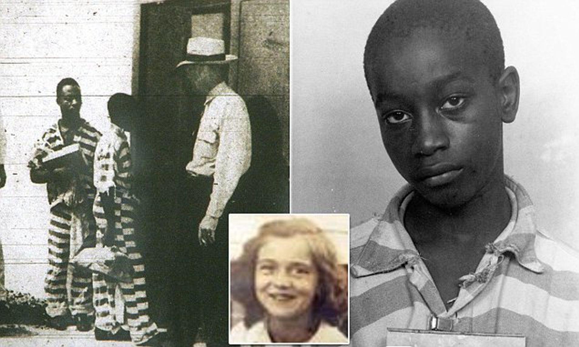 George Stinney Jr d'origine africaine : la plus jeune personne à avoir été condamnée à mort aux États-Unis au XXe siècle.