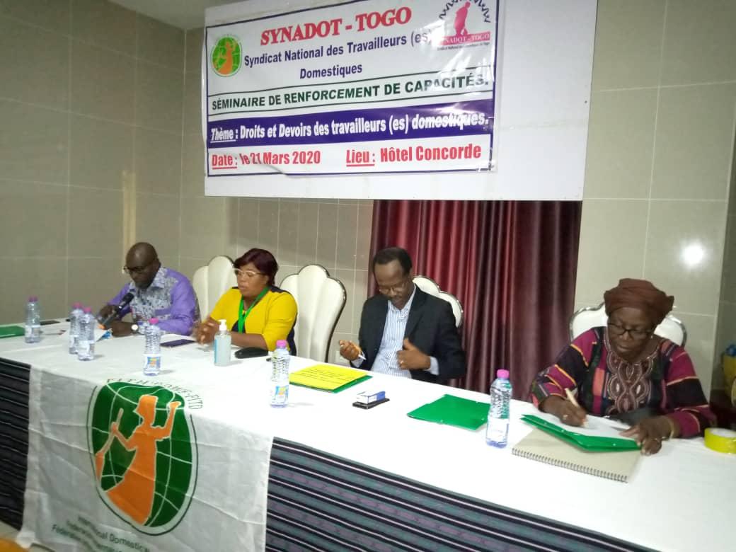 Togo : En dehors des droits, les travailleurs domestiques parlent aussi de devoirs