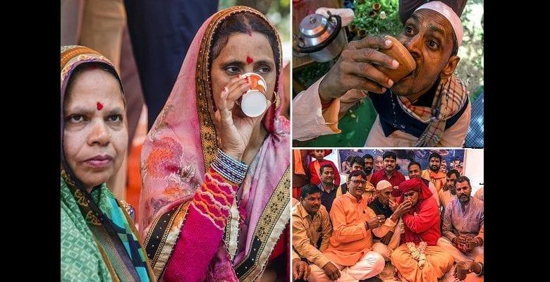 Inde : ce remède étrange des hindous pour se protéger du coronavirus