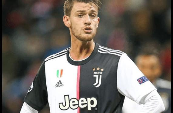 La Juventus annonce que Daniel Rugani a été contrôlé positif au Coronavirus