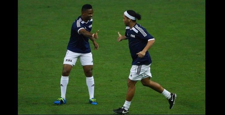 La promesse de Samuel Eto'o à Ronaldinho incarcéré au paraguay