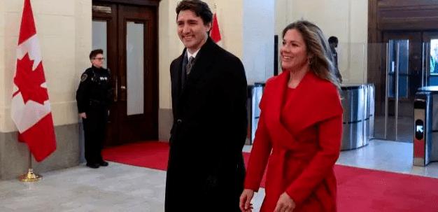 Le Premier Ministre du Canada, Justin Trudeau placé en isolement, sa femme testée positive au Covid-19