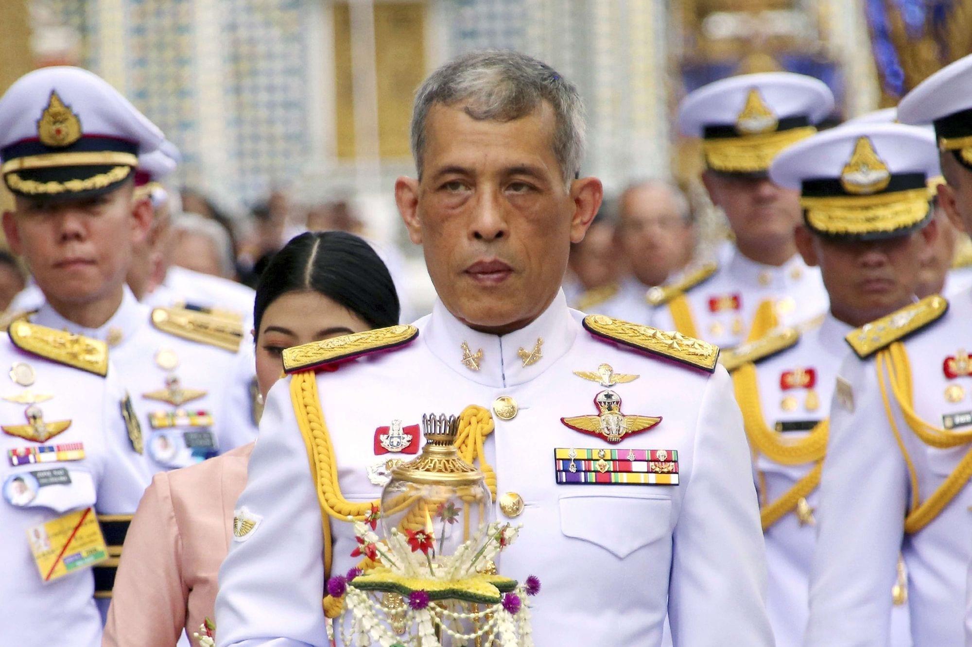 Le roi de la Thaïlande bientôt expulsé d'Allemagne