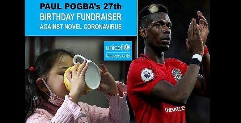 Manchester United : Pogba promet un don de 29 000 euros pour la lutte contre le coronavirus (vidéo)