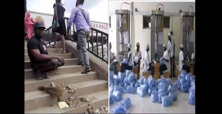 Nigeria : découvrez le mendiant qui possède 5 maisons, une société de transport et une usine de fabrication (photos)