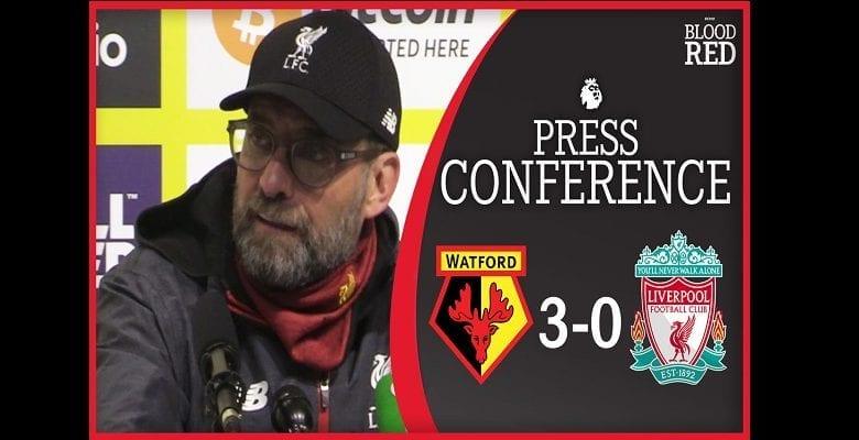 « Nous reviendrons plus forts » : la promesse de Jurgen Klopp après la défaite contre Watford