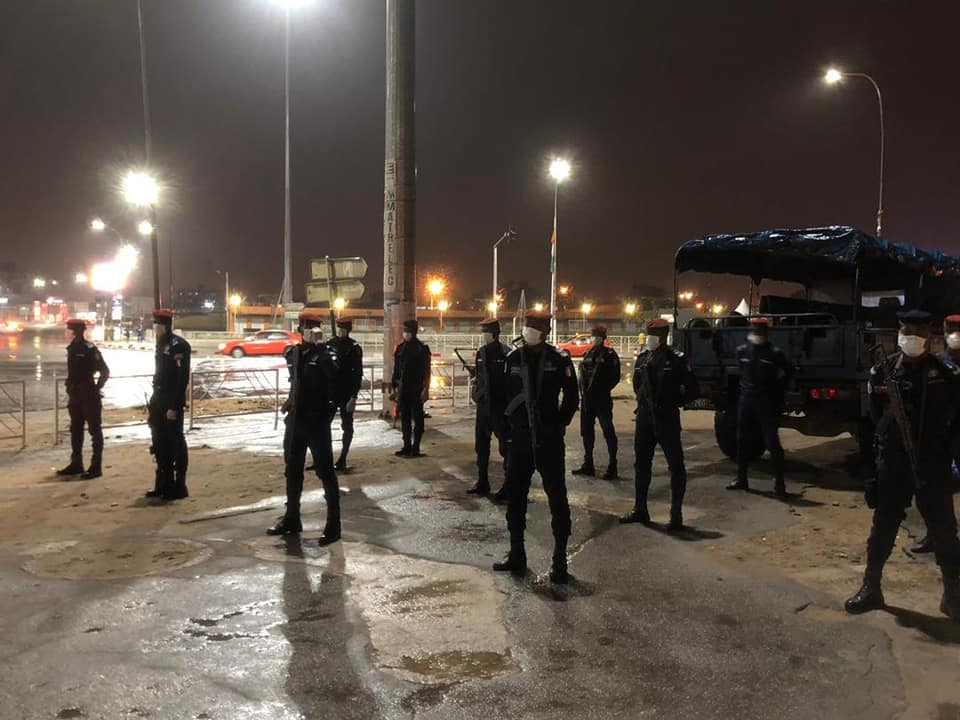 Première nuit du couvre-feu en Côte d'Ivoire contre le Coronavirus : « entre bastonnades et autres sévices corporels »