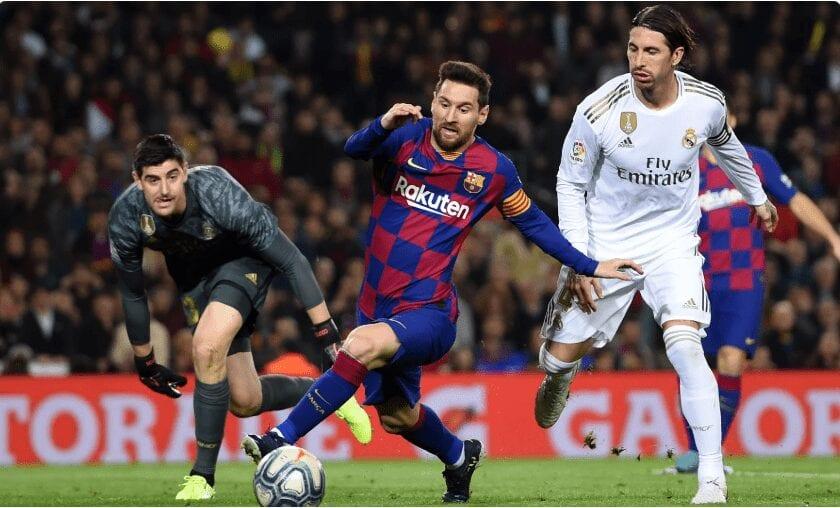 Real Madrid : Une Première Depuis 45 Ans, Courtois Entre Dans L'histoire Des Clasicos