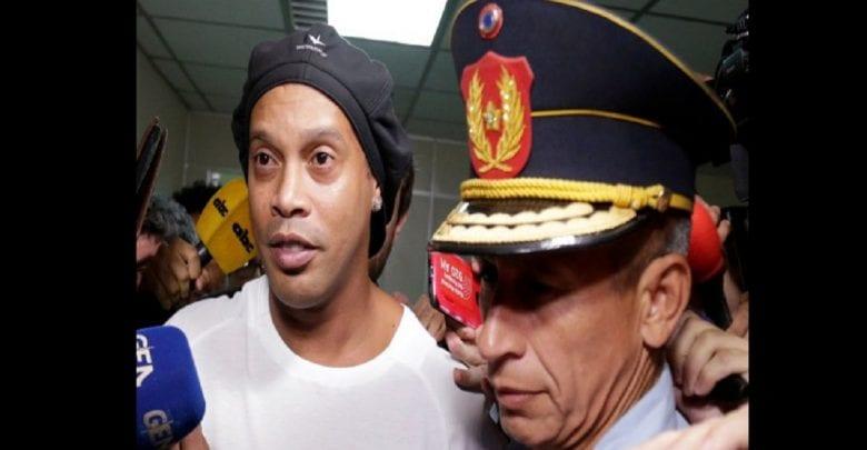 Ronaldinho: Son ami révèle comment il vit à l'intérieur de la prison paraguayenne