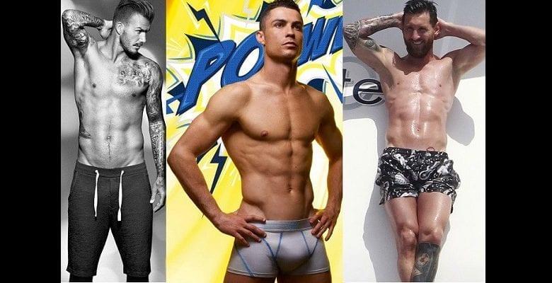 TOP 10: David Beckham, Ronaldo, Messi…Découvrez ces footballeurs qui font rêver les femmes (photos)