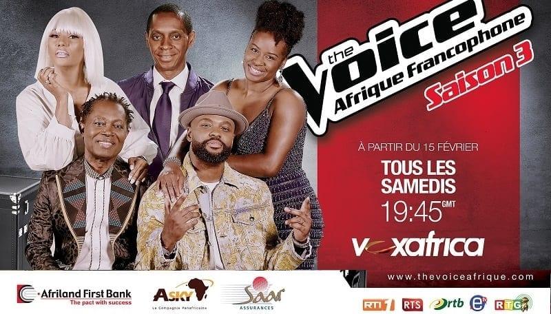 TV : The Voice Afrique Francophone de retour pour une saison 3 !