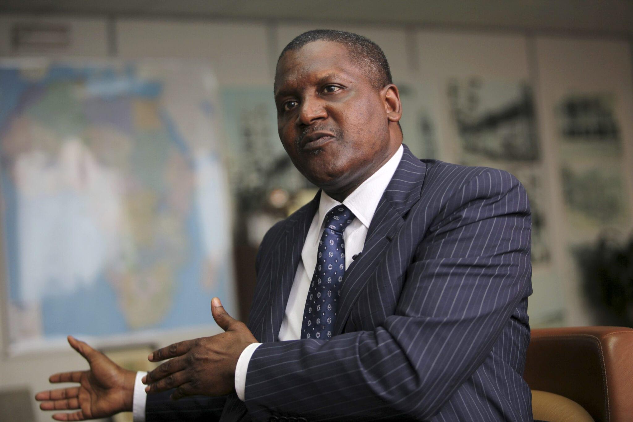 Nigéria : Aliko Dangote veut se lancer dans la production de pétrole