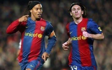 Lionel Messi a refusé d'aider Ronaldinho toujours en prison