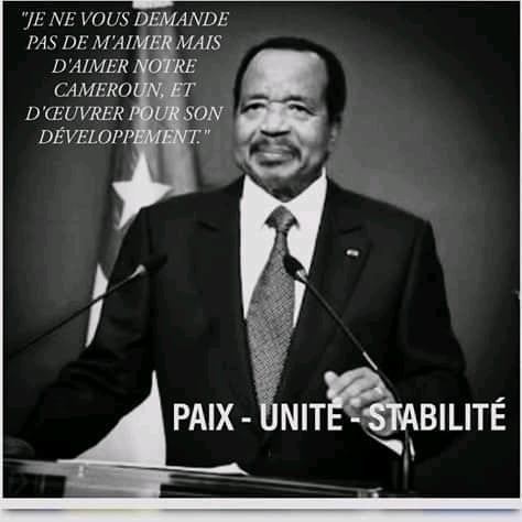 Paul Biya : «Je ne vous demande pas de m'aimer mais d'aimer notre Cameroun»