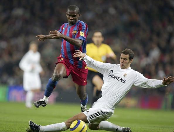Samuel Eto'o en veut au Real Madrid; les raisons