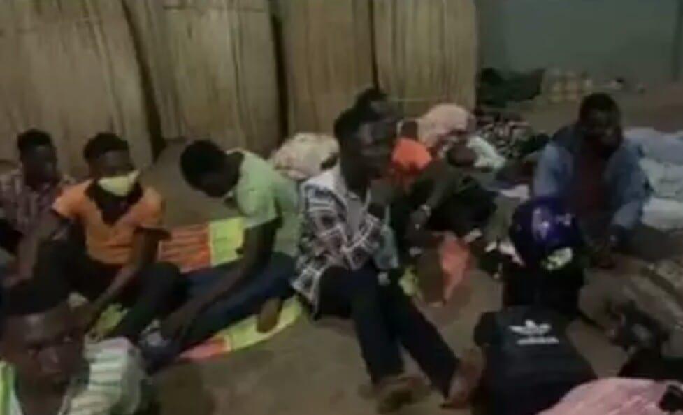 Ghana : 22 personnes se rendant au Togo, arrêtées