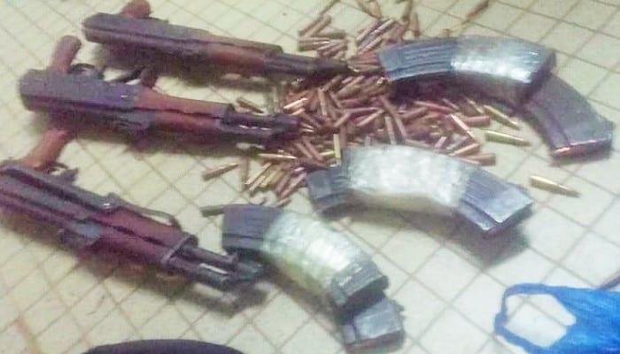 3 dangereux braqueurs arrêtés dans un hôtel avec des Kalachnikovs