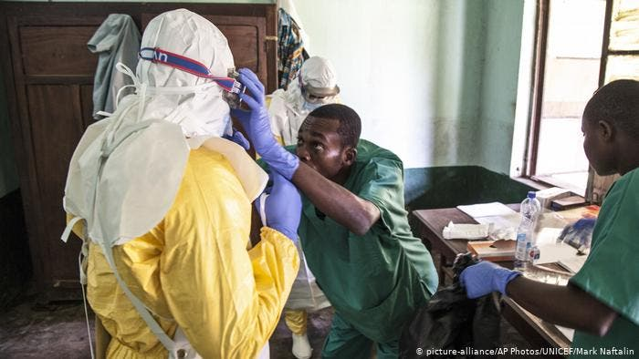 En plein Coronavirus, Ebola fait son retour en RDC (OMS)