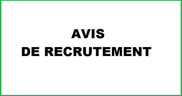 Recrutement Pour Agents MEAL
