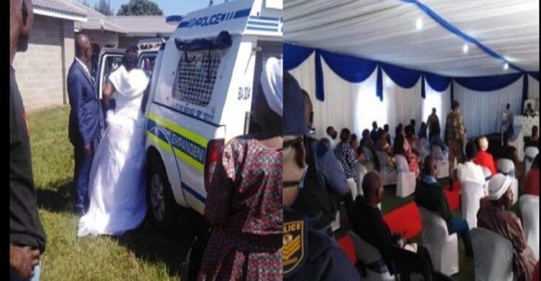 title Afrique du Sud: Un couple arrêté pour avoir célébré leur mariage pendant le confinement